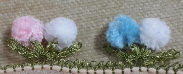 Kolay ve gösterişli Ponpon iğne oyası bebek örtüsü yapımı